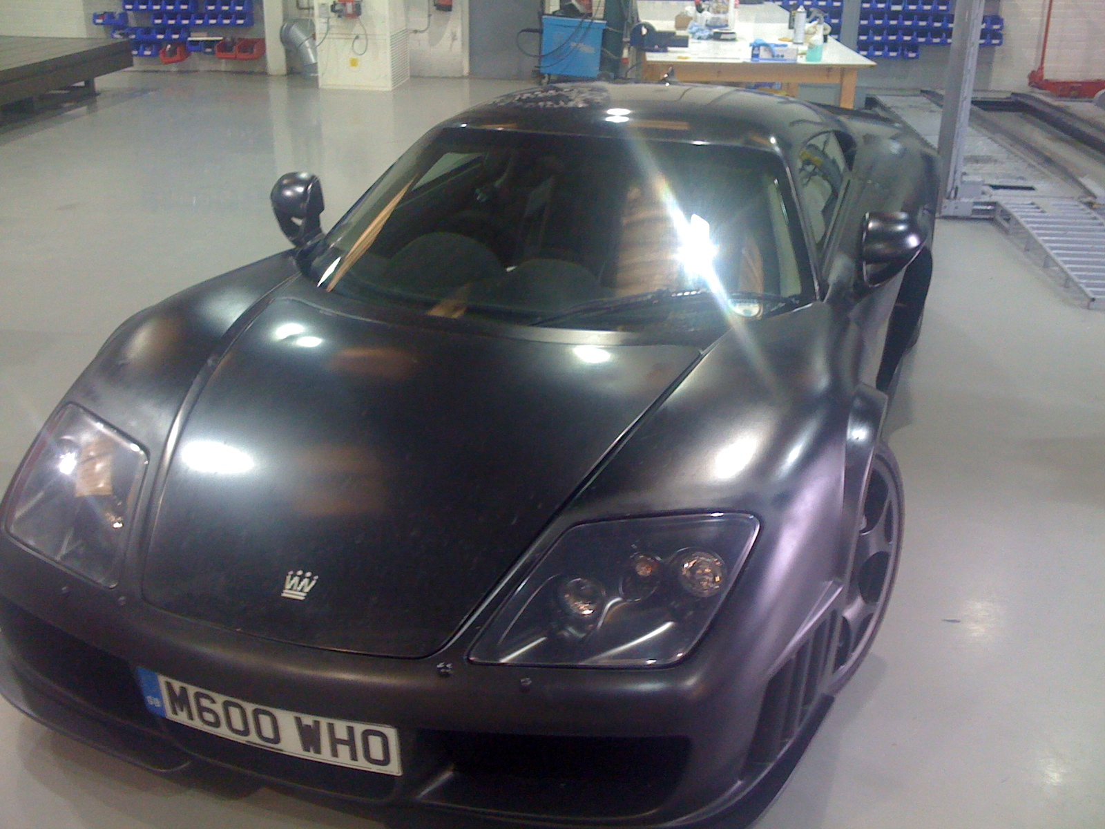 Nobel M600 Prototype British Supercar